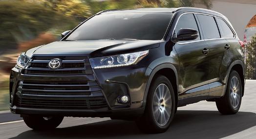 2017 Toyota Highlander Release Date