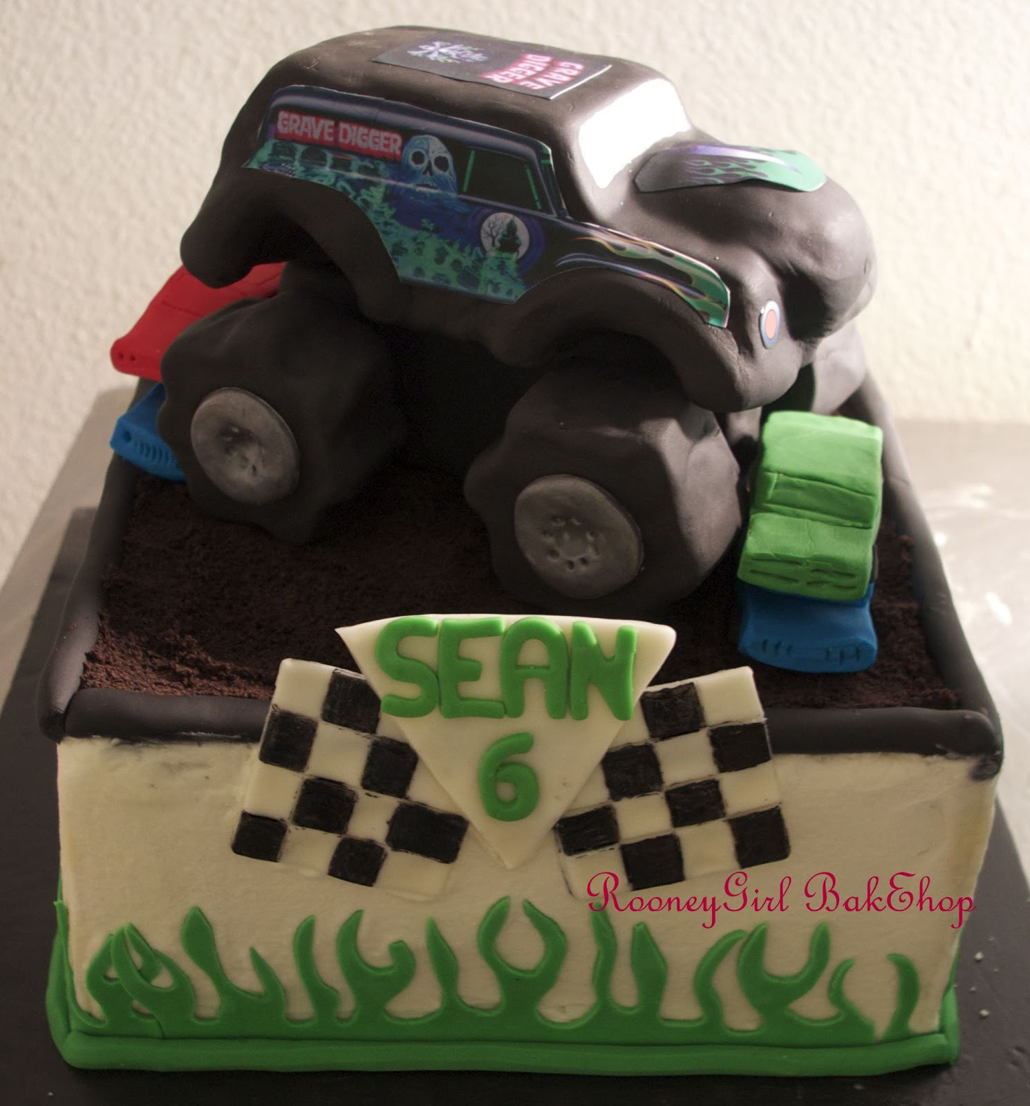 Rooneygirl Cupcakes Starting From Scratch Monster Truck Cake
