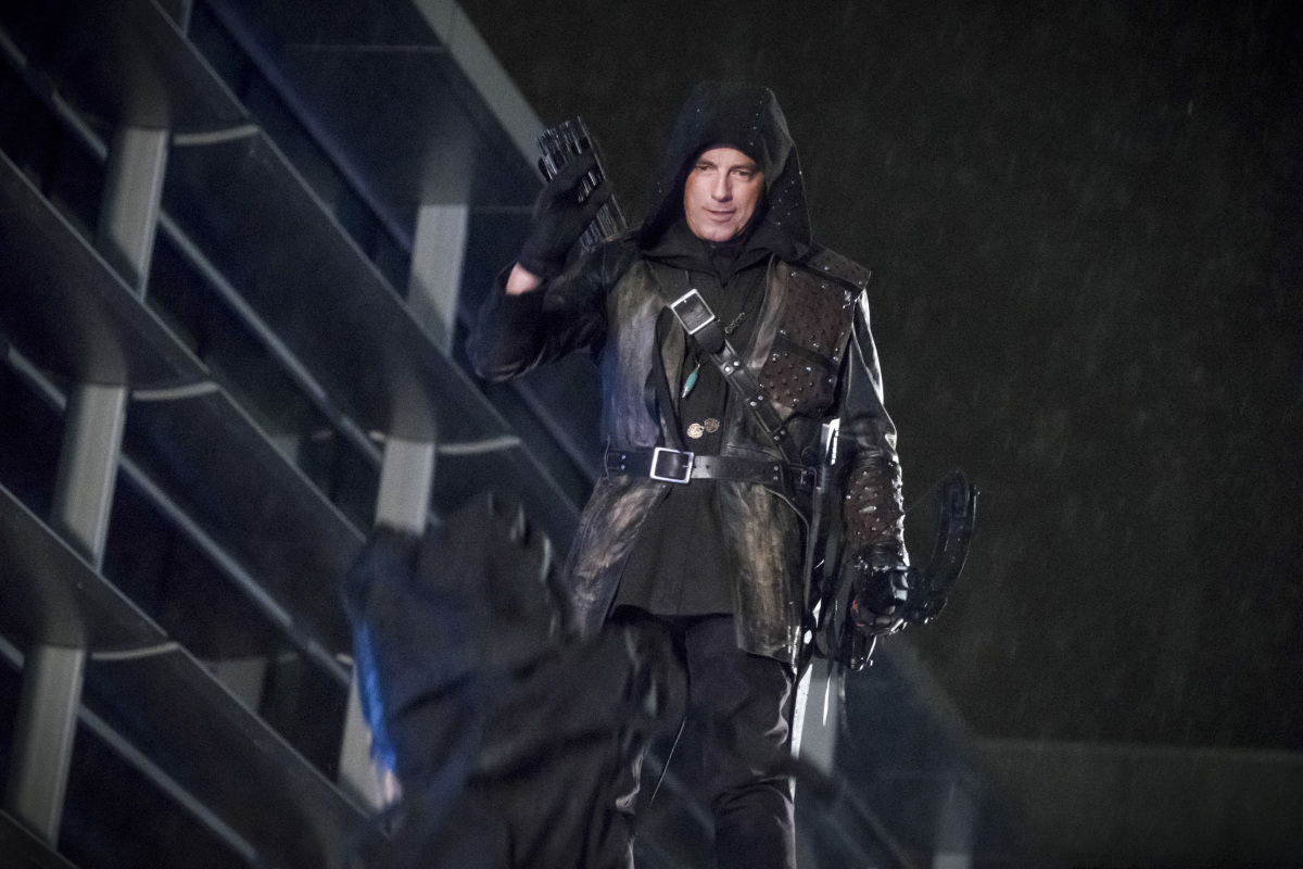 Josh Barrowman en una escena de Arrow