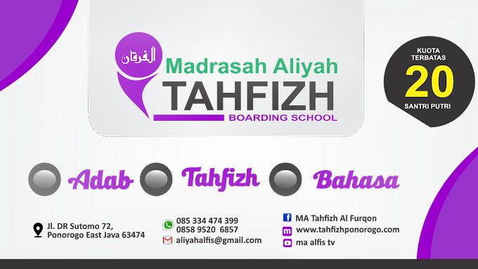 Question And Answer MA Tahfizh AL Furqon
