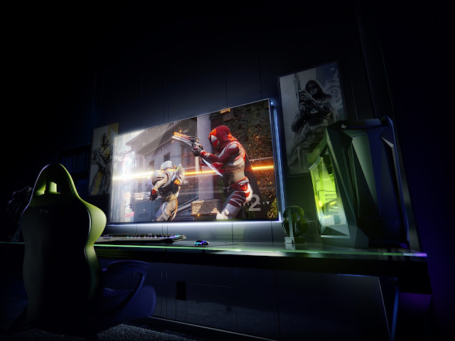 "NVIDIA Introduces 65"" 4K 120Hz Gaming Displays"