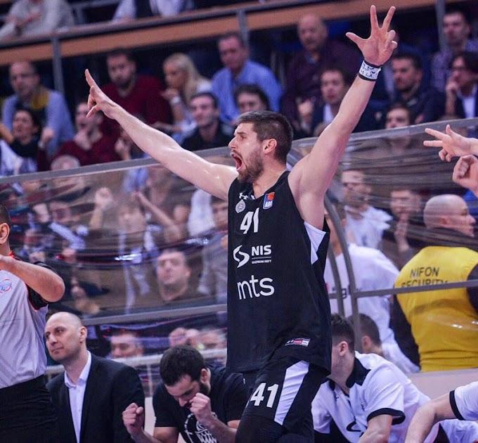 Partizanovo veče iz snova, crno-beli osvojili kup! (VIDEO)