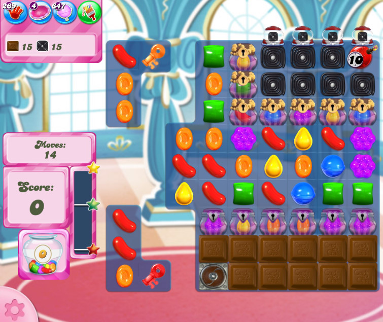 Candy Crush Saga level 2659