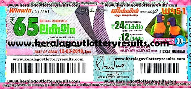 kerala lottery results, latest kerala lottery results