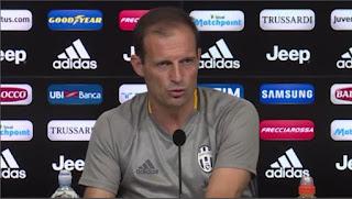 Juventus Allegri conferenza stampa pre Napoli video Serie A