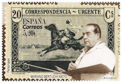 Filatelia - Mariano Bertuchi Nieto - 29 03 2019 - Sello