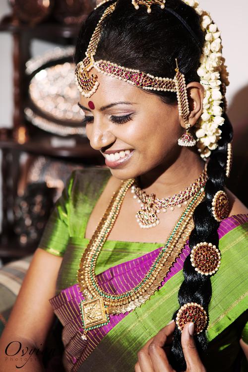 Latest Indian Wedding Silk Saree Jewellery Wedding Hair