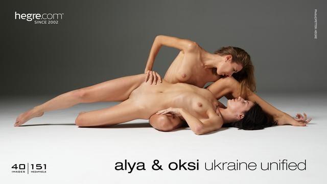 [Hegre-Art] Alya And Oksi - Ukraine Unified