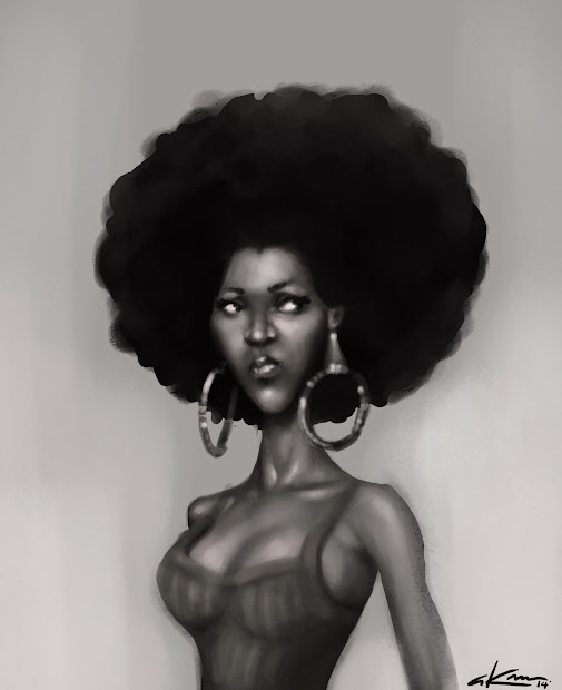 Strong Black Women Paintings