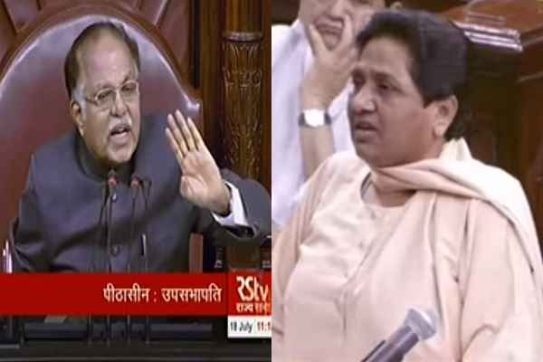 why-mayawati-resign-from-rajya-sabha