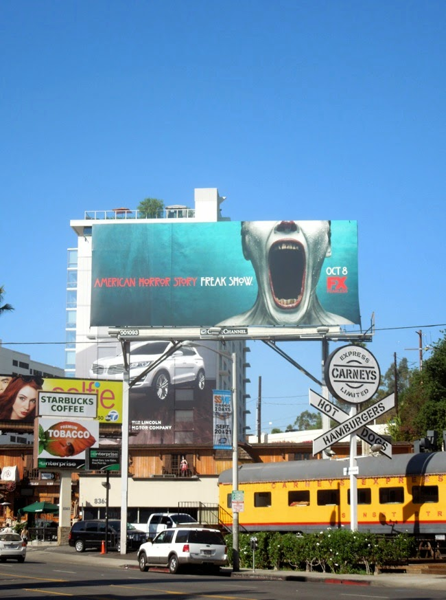 American Horror Story Freak Show billboard