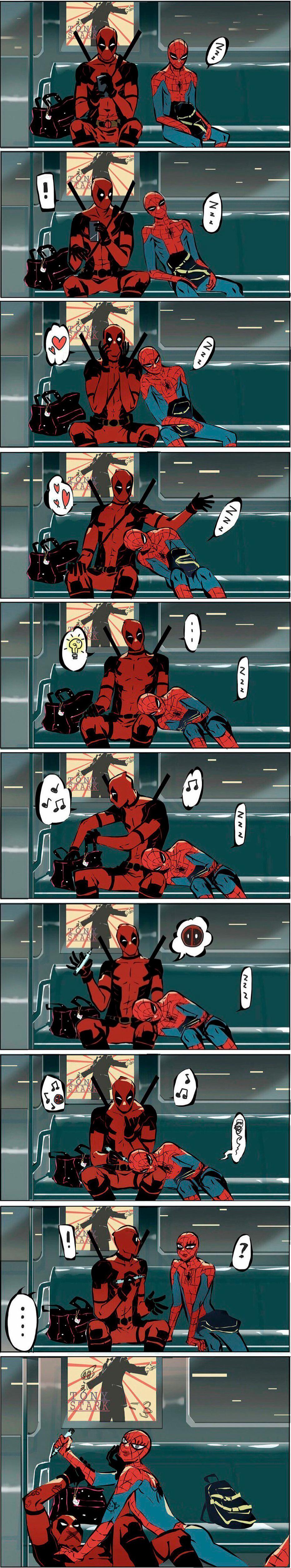 Deadpool does whatever a deadpool can