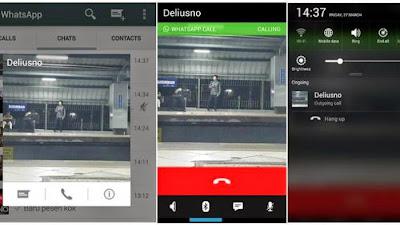 Foto Cara Telpon Gratis dengan Whatsapp Voice HP Android WA