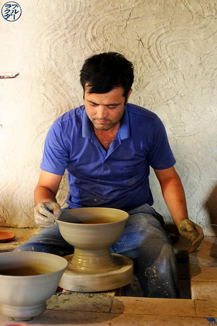 Le Chameau Bleu - Blog Voyage Ouzbékistan - Poitier de Gijduvan