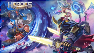 Heroes Infinity: God Warriors Apk Mod Money Free for android