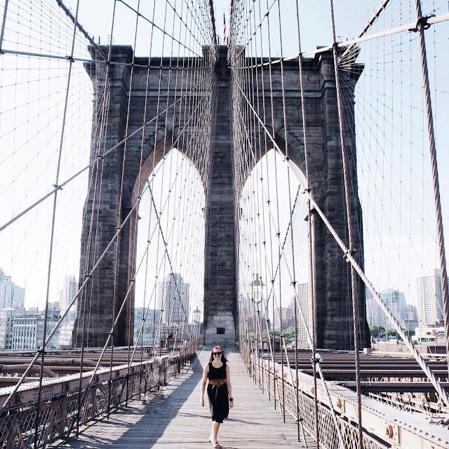 New York Travel Love Grinsestern