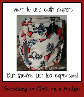 cloth diapering on a budget