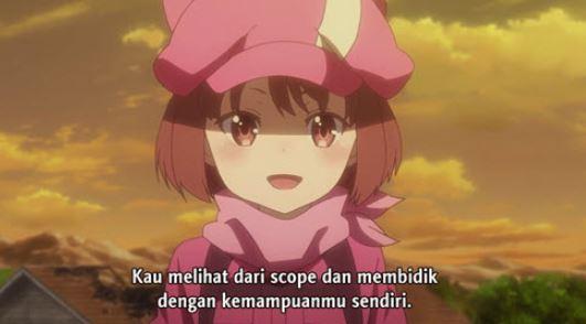 Sword Art Online Alternative: Gun Gale Online Episode 4 Subtitle Indonesia