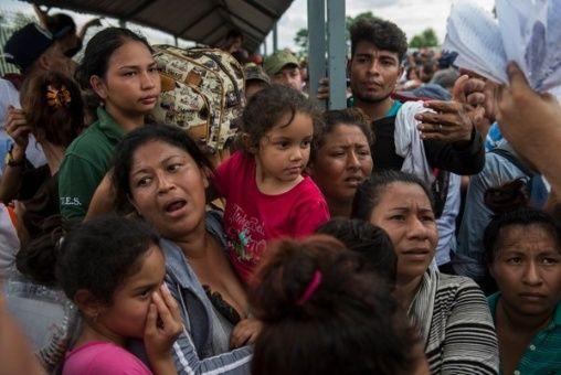 México otorga tarjeta humanitaria a migrantes centroamericanos