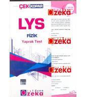 İşleyen Zeka LYS Fizik Yaprak Test 2013
