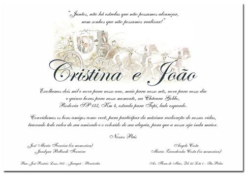 Mensagem De Convite De Casamento