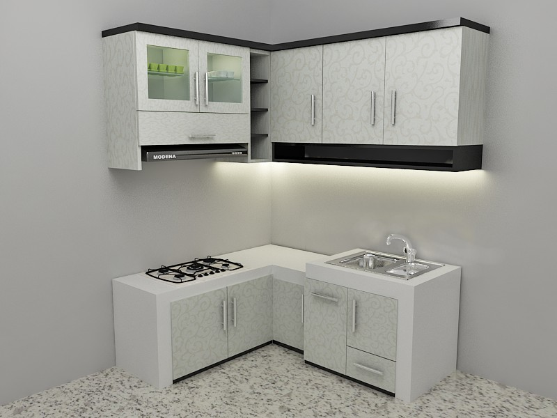 Kitchen Set Hijau Home Decor Ideas