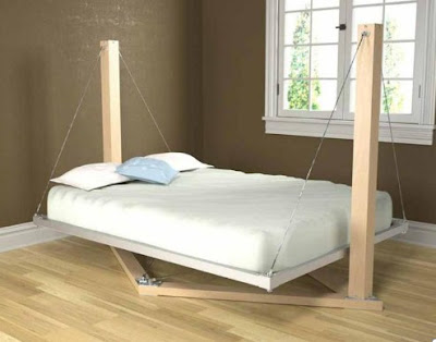 Beds for Husband and Wife Romantic Minimalism