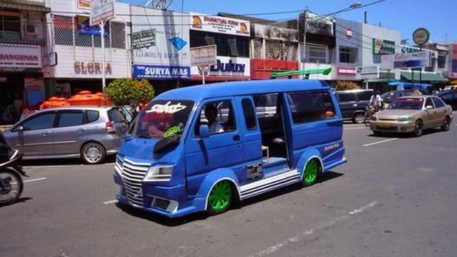 modifikasi mobil ceper keren abis terbaru bandung di indonesia