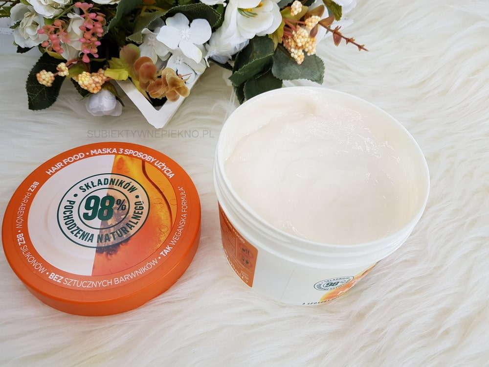GARNIER PAPAYA HAIR FOOD  - opinie, recenzja - Papaja Hair Food