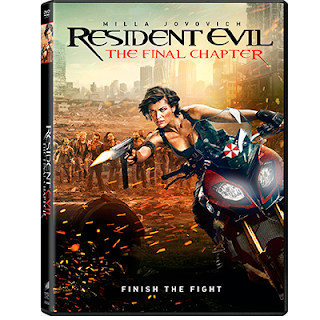 Resident Evil The Final Chapter (2016) DVD