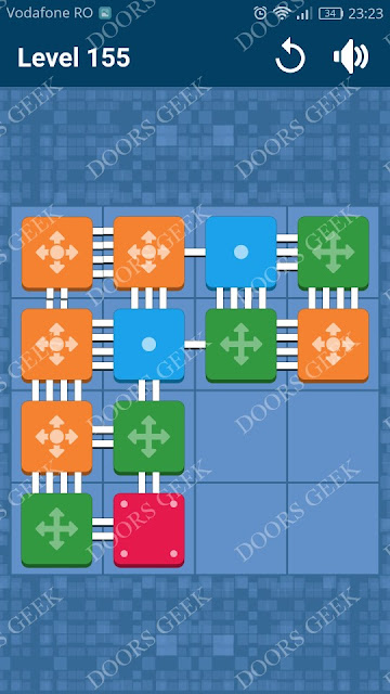 Connect Me - Logic Puzzle Level 155 Solution, Cheats, Walkthrough for android, iphone, ipad and ipod