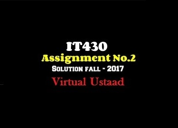 it430 assignment solution
