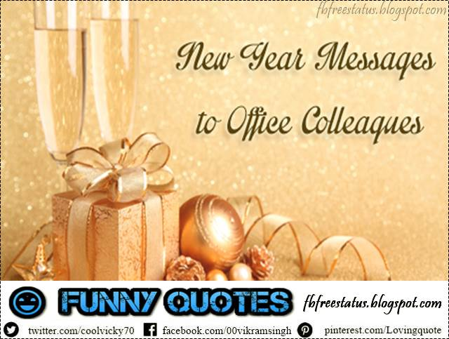 New Year Messages for Colleagues, New Year Wishes for Colleagues