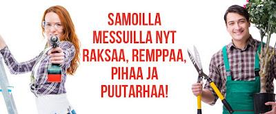 Piha, Puutarha & Porin Rakennusmessut 2018,  28.-29.4.2018 Porin Karhuhalli