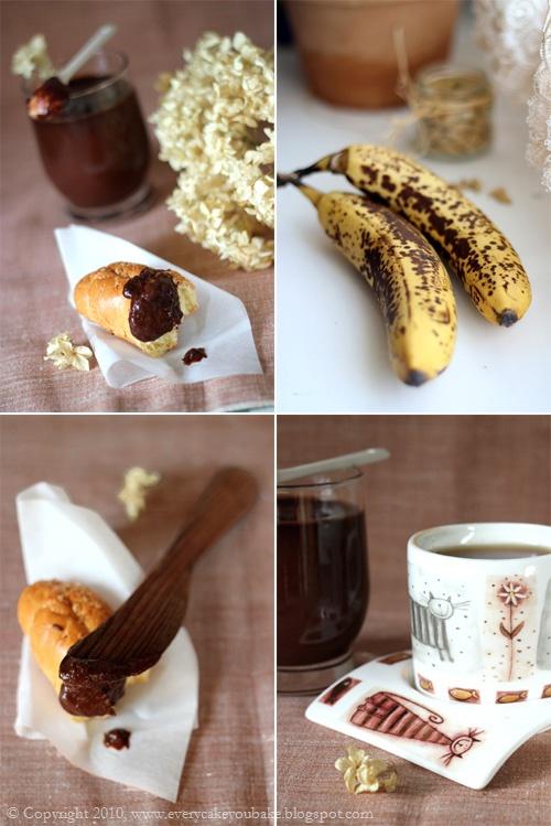 dżem krem bananowo-czekoladowy z kardamonem
