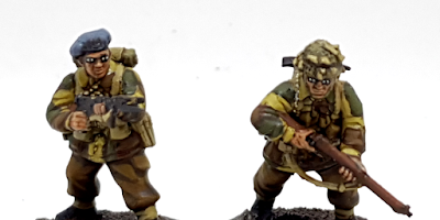 How to paint miniature eyes faces