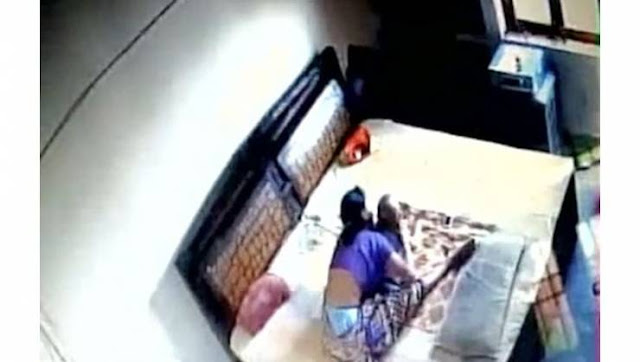 فيديو| شكّ في زوجته فوضع كاميرا مراقبة في غرفة النوم .. وهذا ما اكتشفه! لن تتخيل ما اكتشفه هذا الزوج الهندي!