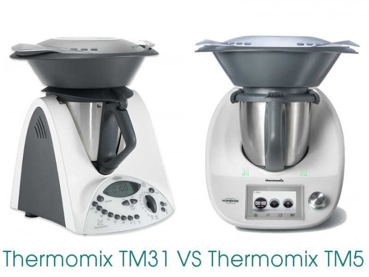 Difference between the Thermomix TM31 and TM5