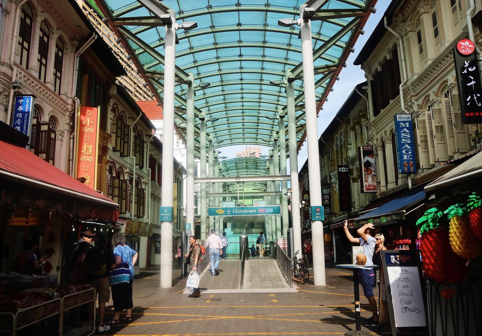 Chinatown MRT Station Singapore