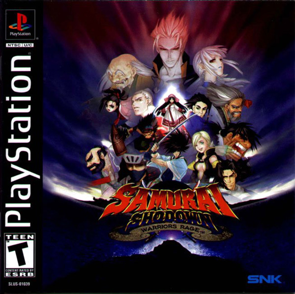 Samurai Shodown - Warriors Rage - PS1 - ISOs Download
