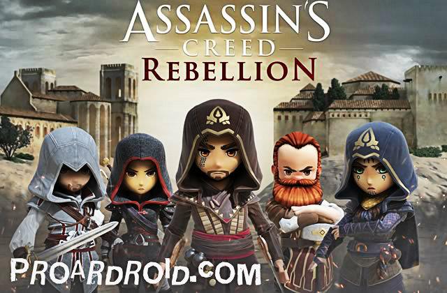 لعبة Assassin's Creed: Rebellion v1.7.1 مهكرة كاملة للاندرويد (اخر اصدار) logo