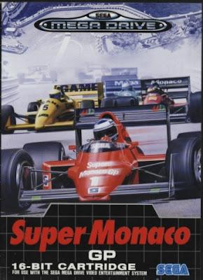 Rom de Super Monaco Grand Prix - Mega Drive - PT-BR