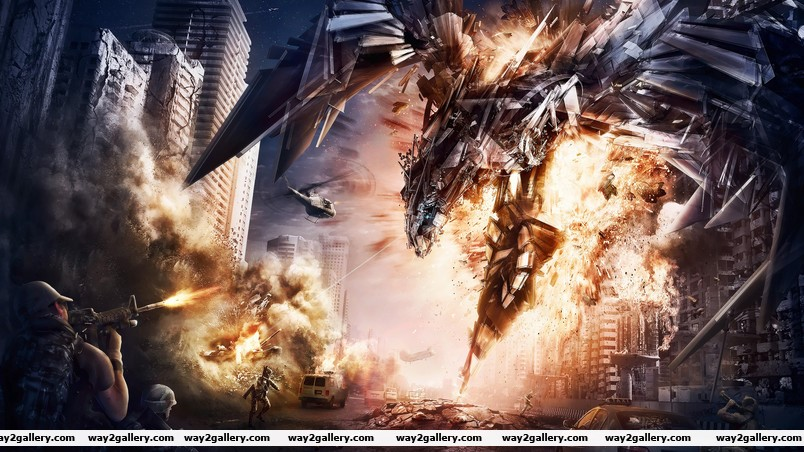 Transformers 4 concept art wallpaper