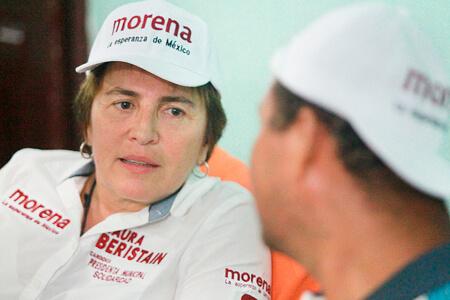 O CERCANA A LA COMUNIDAD PROPONE LAURA BERISTAIN