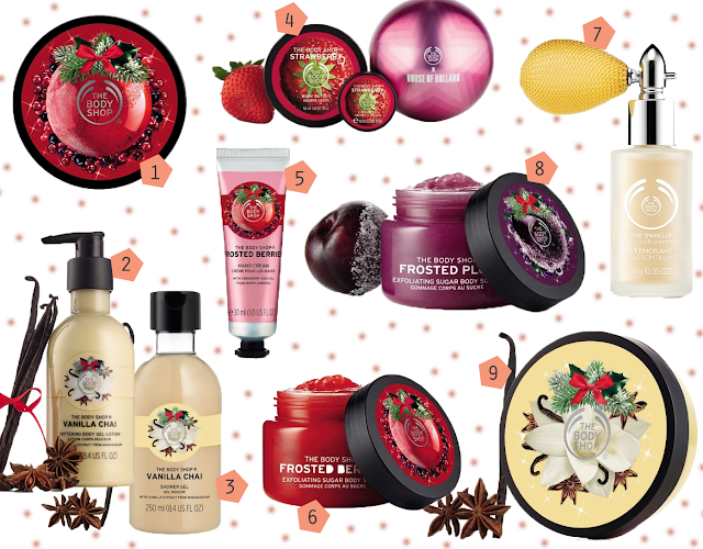 The Body Shop Christmas Wishlist 2017