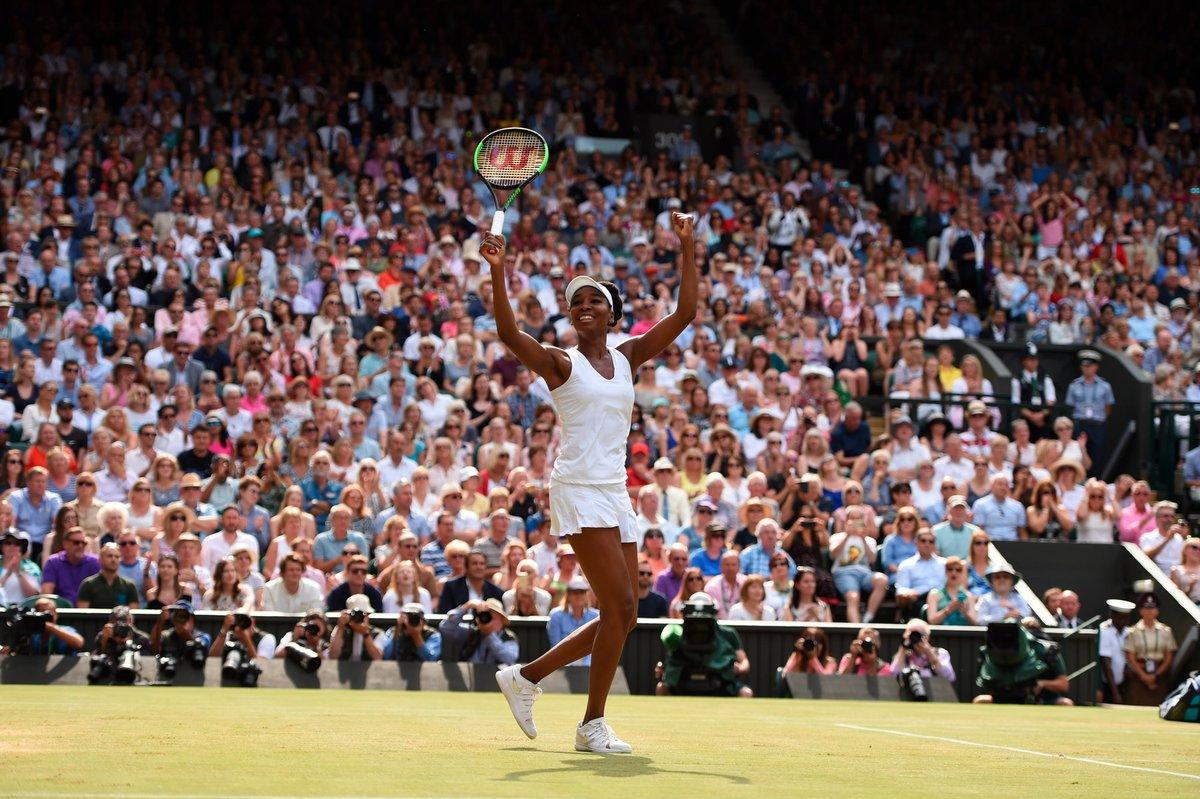 Venus Williams Clinical against British No. 1 Johanna Konta, wins 6-4, 6-2 to reach 9th Wimbledon Final