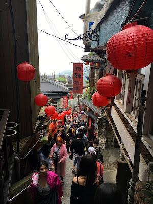 Ville de Jiufen, Taiwan