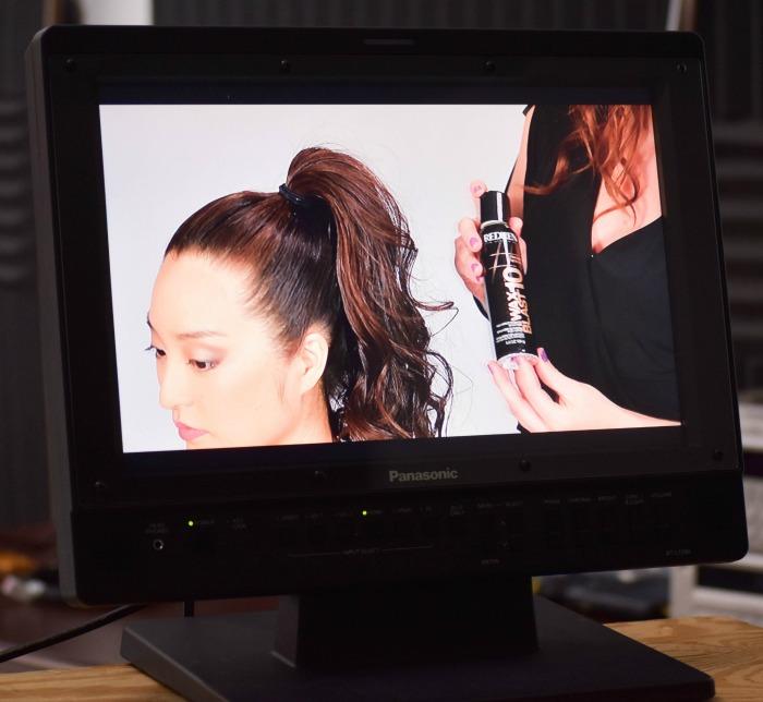 asian hair model