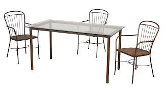 mesa grande terraza forja, sillas de terraza en forja, mueble jardin, mesa terraza forja, sillas terraza forja, mueble jardin, mueble terraza forja