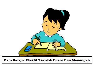 Materi MOS Cara Belajar Efektif Sekolah Dasar Dan Menengah